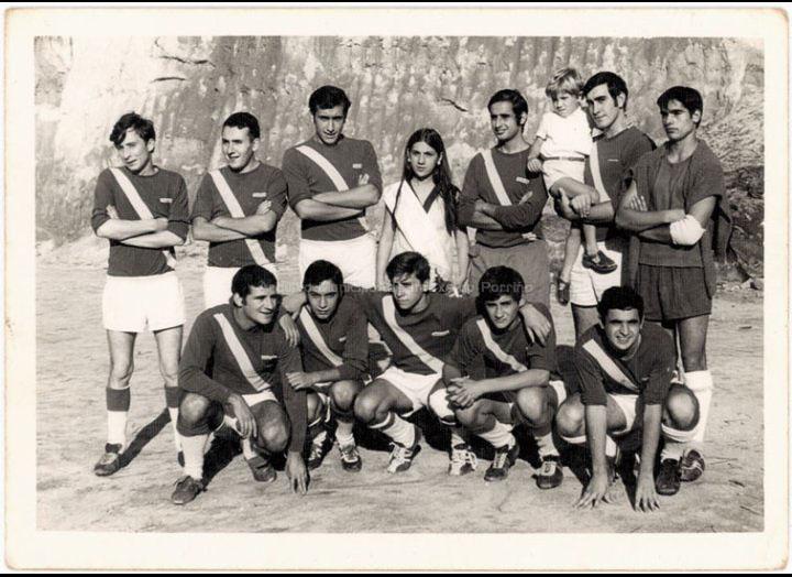 Equipo de futbol / Foto Pako [1969] / PROCEDENCIA: Recollida O Porriño. Album familiar José Rodríguez Pérez