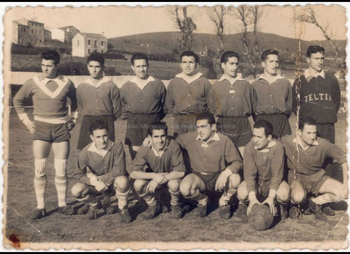 Club Zeltia Deportivo do Porriño / Autor descoñecido [1957 – 1958] / PROCEDENCIA: Recollida O Porriño. Album familiar José Teijeira