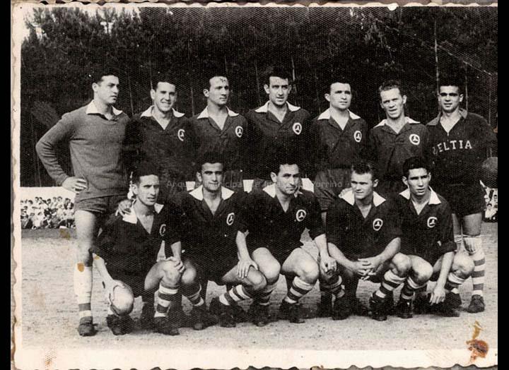 Clube Zeltia Deportivo do Porriño / Autor descoñecido [1955-1965 (?)] / PROCEDENCIA: Recollida O Porriño. Album familiar de Mª Josefa Rodríguez Pérez