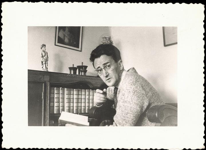 O profesor Jesús Casales Arias. / Consuelo Bermejo Prada [1950] / PROCEDENCIA: Cedida por Consuelo Bermejo Prada