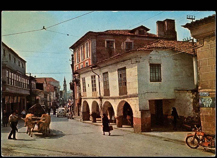 Rúa Ramón González. Tarxeta postal. / A. Campaña e J. Puig-Ferrán [1960-1970 (?)]