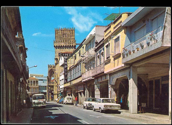 Rúa Ramón González. Tarxeta postal. / Ediciones Arribas (Zaragoza) [1970-1980 (?)]