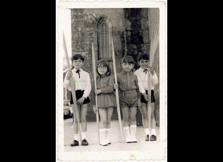 Domingo de Ramos. / Foto Magno [1968] / PROCEDENCIA: Recollida O Porriño. Album familiar de Ramona Iglesias Miniño