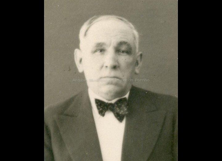 Silvino González García, alcalde do Porriño. / José Moreira [1928 – 1950] / PROCEDENCIA: Arquivo Moreira