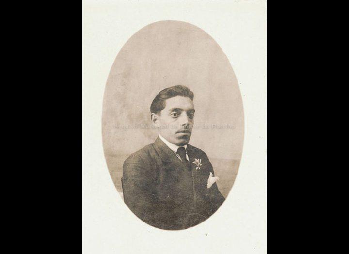 Leandro Diz Rey, cronista oficial do Porriño. / José Moreira [1928 –1950] / PROCEDENCIA: Arquivo Moreira