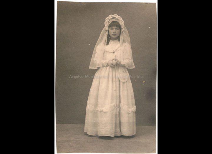 Nena de primeira comuñón. / José Moreira [1935 – 1950 (?)] / PROCEDENCIA: Arquivo Moreira
