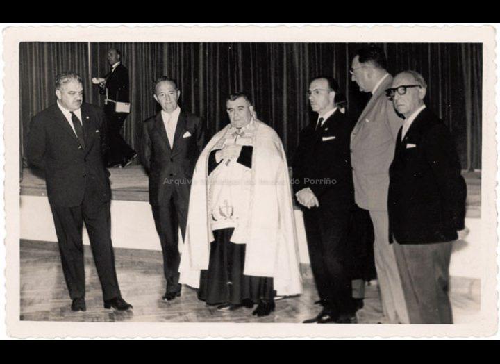 Acto inaugural da nova sede do C. R. C. / Foto Magno [29 – 08 – 1964] / PROCEDENCIA: Recollida O Porriño. Album familiar de Antonio I. Paz Valverde